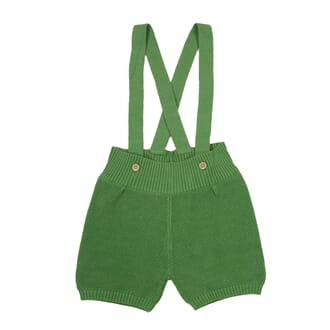 Max Suspender Shorts - ss19 Leaf Green - MeMini