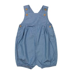 Nicholas Denim romper- ss19  Denim - MeMini