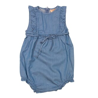 Lilja Denim Romper -ss19  Denim - MeMini