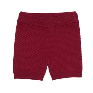 Jim Knit shorts fw19 Red - MeMini