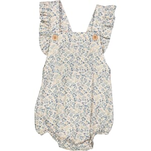 Romper Freja ivory flowers - Wheat