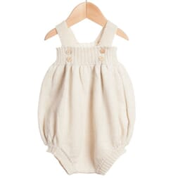 Tomatillo Romper white - Waddler