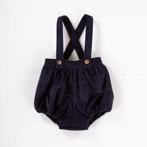 Marley Romper Navy Cord - Olivier London