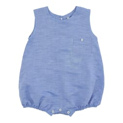 David Romper Ocean Blue - Poppy Rose