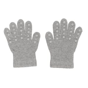 Grip gloves grey melange - GoBabyGo
