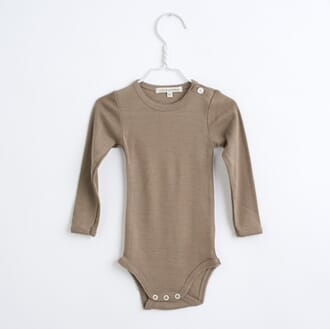 Baby body Taupe - Lilli & Leopold