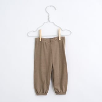 Baby summer tights Taupe - Lilli & Leopold
