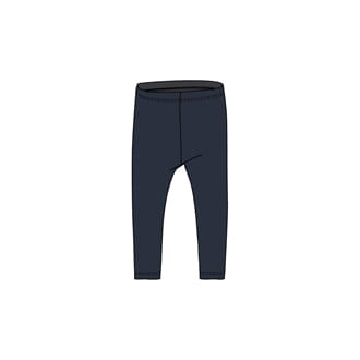 Wool Leggings navy - Wheat