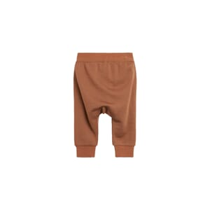 Gaby Jogging Trousers ull/bambus cognac - Hust & Claire