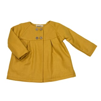 Norah Baby Coat Honey Gold - MeMini