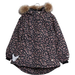 Jacket Tusnelda navy flowers (baby) - Wheat
