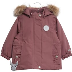 Jacket Eja plum (baby) - Wheat