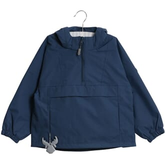 Jacket Ziggy (baby) indigo - Wheat