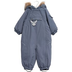 Snowsuit Nickie blue - Wheat