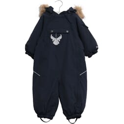 Snowsuit Nickie navy - Wheat