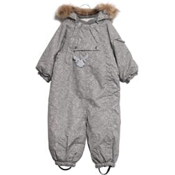 Snowsuit Nickie grey - Wheat