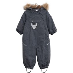 Snowsuit Nickie denim - Wheat
