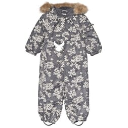 Snowsuit Nickie steel - Wheat