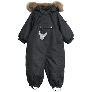 Snowsuit Nickie black - Wheat