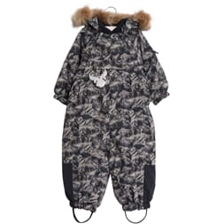 Snowsuit Nickie navy moutains - Wheat