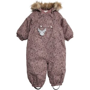 Snowsuit Nickie dusty rouge - Wheat