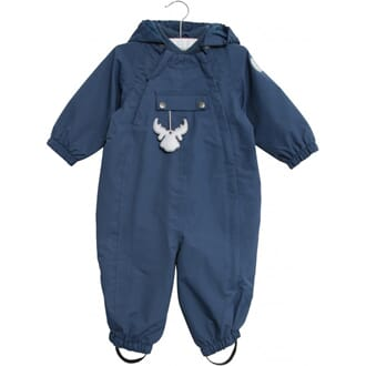 Suit Outdoor (baby) indigo - Wheat