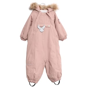 Snowsuit Nickie Tech rose powder - Wheat