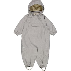 Outdoor suit Olly Tech dove melange - Wheat