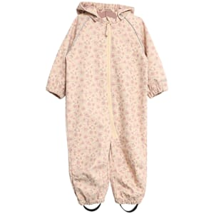 Softshell Suit soft beige flowers - Wheat