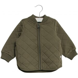 Thermo Jacket Loui olive (baby) - Wheat
