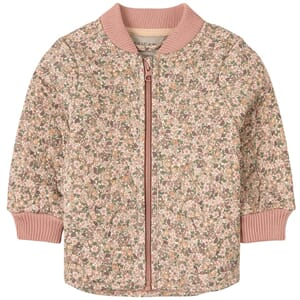 Thermo Jacket Loui eggshell flowers - Wheat