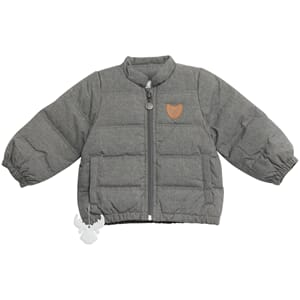 Down Jacket Baby melangegrey - Wheat