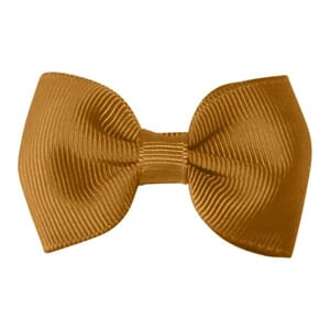 Small bowtie bow pale gold - Milledeux