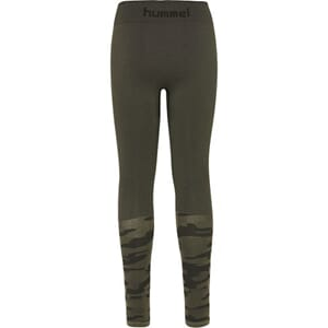 Luka Seamless Tights olive night - Hummel