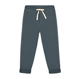 Relaxed Jersey Pants Blue Grey - Gray Label