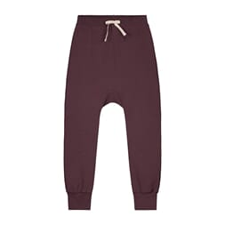 Baggy Pant Seamless Plum - Gray Label