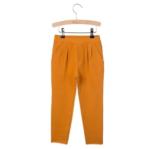 Pleated Trousers Kobus Pumpkin Spice - Little Hedonist