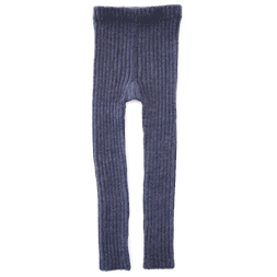 Rib Leggings blue - Esencia