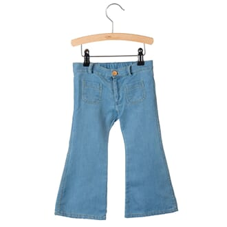 4 Pocket Flared Pants Bay Denim