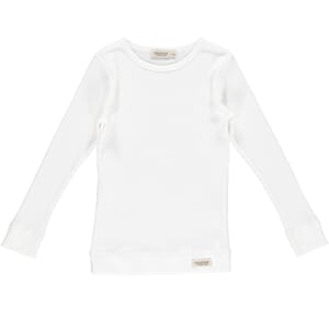 Plain Tee LS gentle white - MarMar