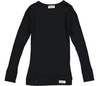 Plain Tee LS black - MarMar