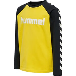 Boys T-Shirt L/S maize - Hummel