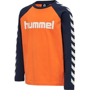 Boys T-Shirt L/S carrot - Hummel