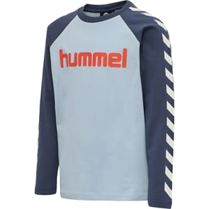 Boys T-Shirt L/S blue fog - Hummel
