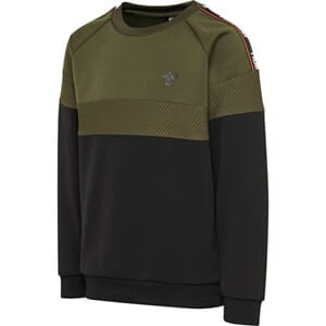 Kane Sweatshirt olive night - Hummel