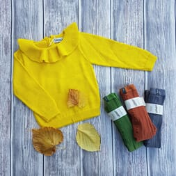 Pierrot jumper yellow - Waddler