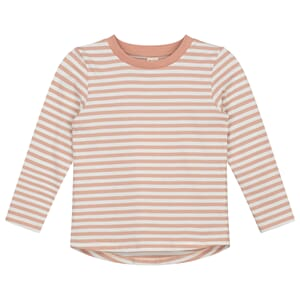 L/S Striped Tee Rustic Clay/Cream Stripe - Gray Label