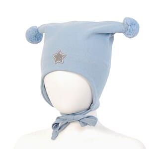 Windproof hat star light blue - Kivat