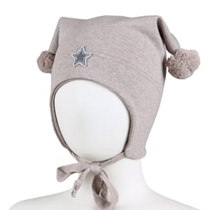 Windproof hat star beige - Kivat