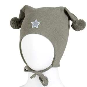 Windproof hat star green - Kivat